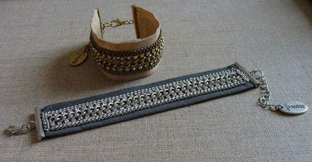 bracelets chainés