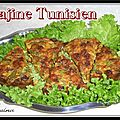 Tajine tunisien  la dinde ou au poulet...