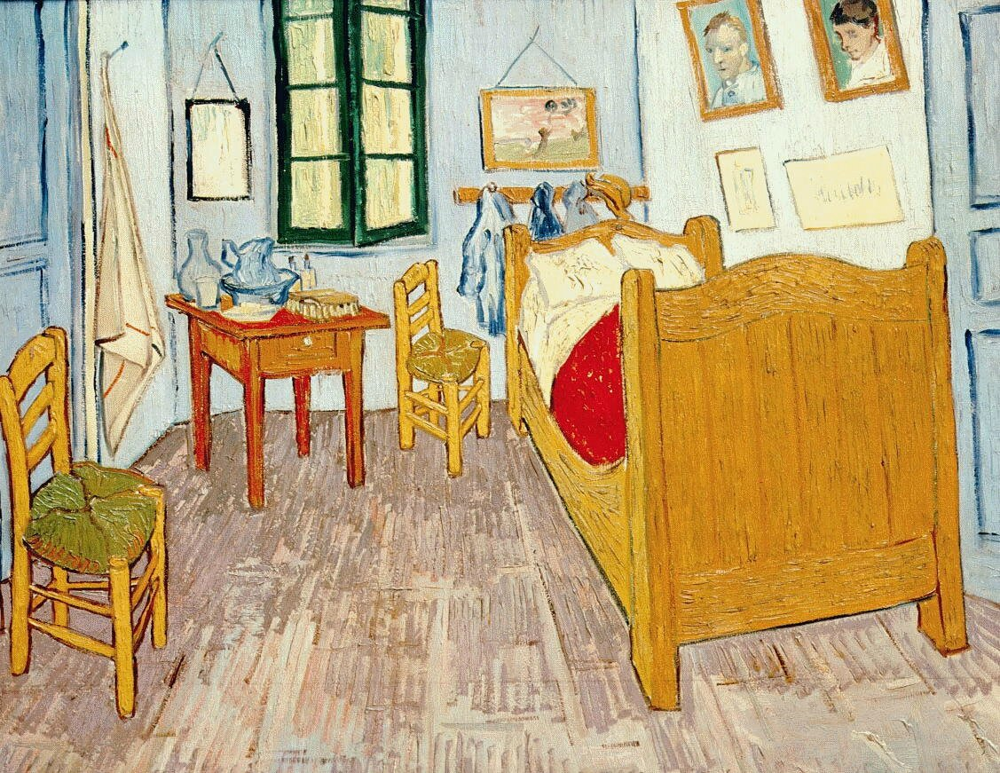 1889 van gogh la chambre or photo de 6tt van gogh art