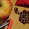 Compote pommes au four