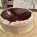 Entremet chocolat / bavaroise pistache (recette cap)