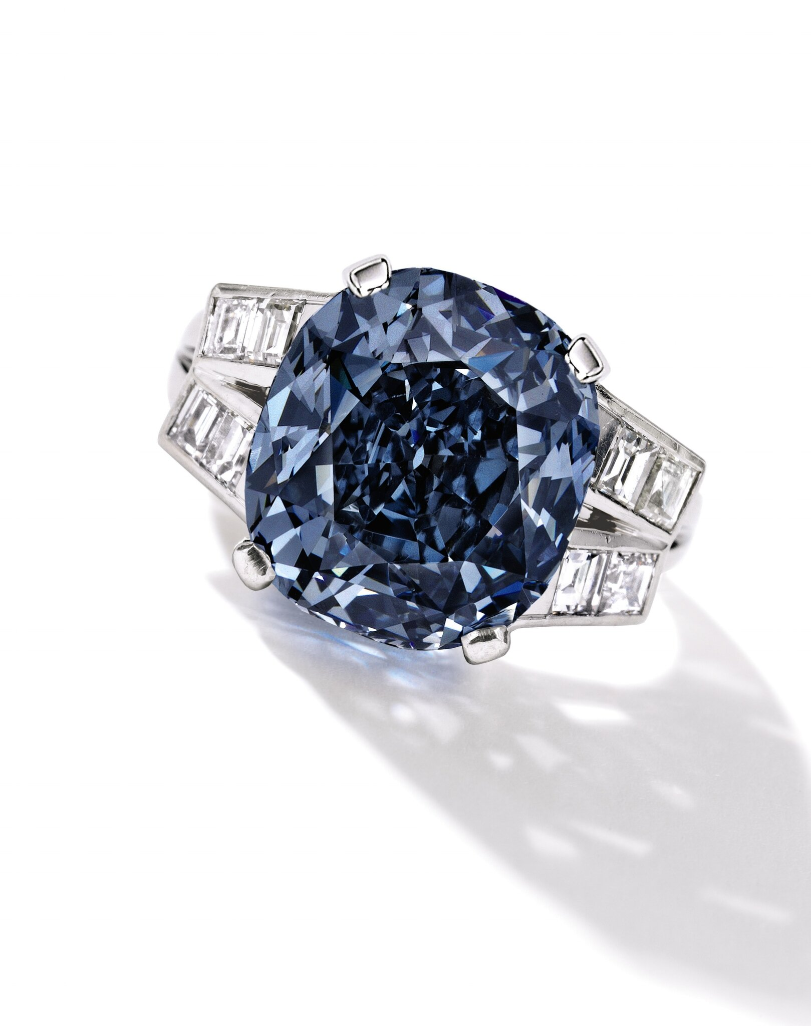 Sotheby's to Offer The Shirley Temple Blue Diamond