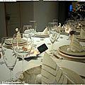 Symphonie polaire pour table de fête