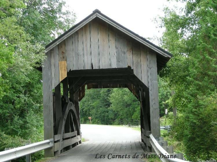 Holmes Creek bridge, Charlotte, Vt