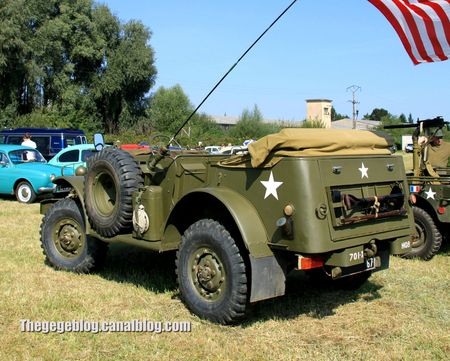 Dodge WC57 command car de 1943 (Auto Retro nord Alsace Betschdorf) 02