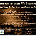 Course d'orientation d'halloween à saint georges du rosay vendredi 30 octobre à partir de 16h00
