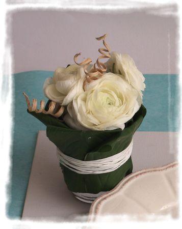 Une Mini Compo Floral Tout R Cup Mon Espace Cr Atif