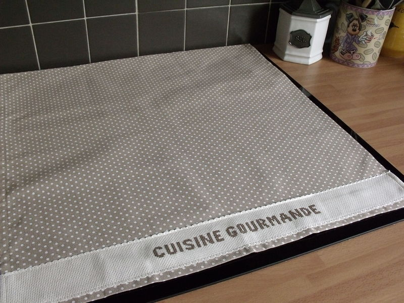 Ca sent la lavande d coudre - Protection table de cuisson ...