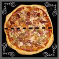 Pizza maison 3 jambons hallal...