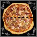 Pizza maison 3 jambons hallal...