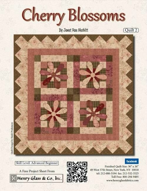 Cherry Blossoms Quilt 2