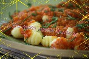 gnocchi a la sauce tomate