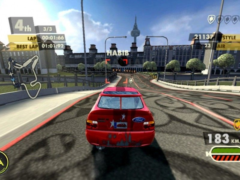Need For Speed Nitro Ford Escort Cosworth En Action