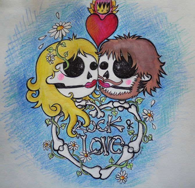 rock 'n love illus canalblog