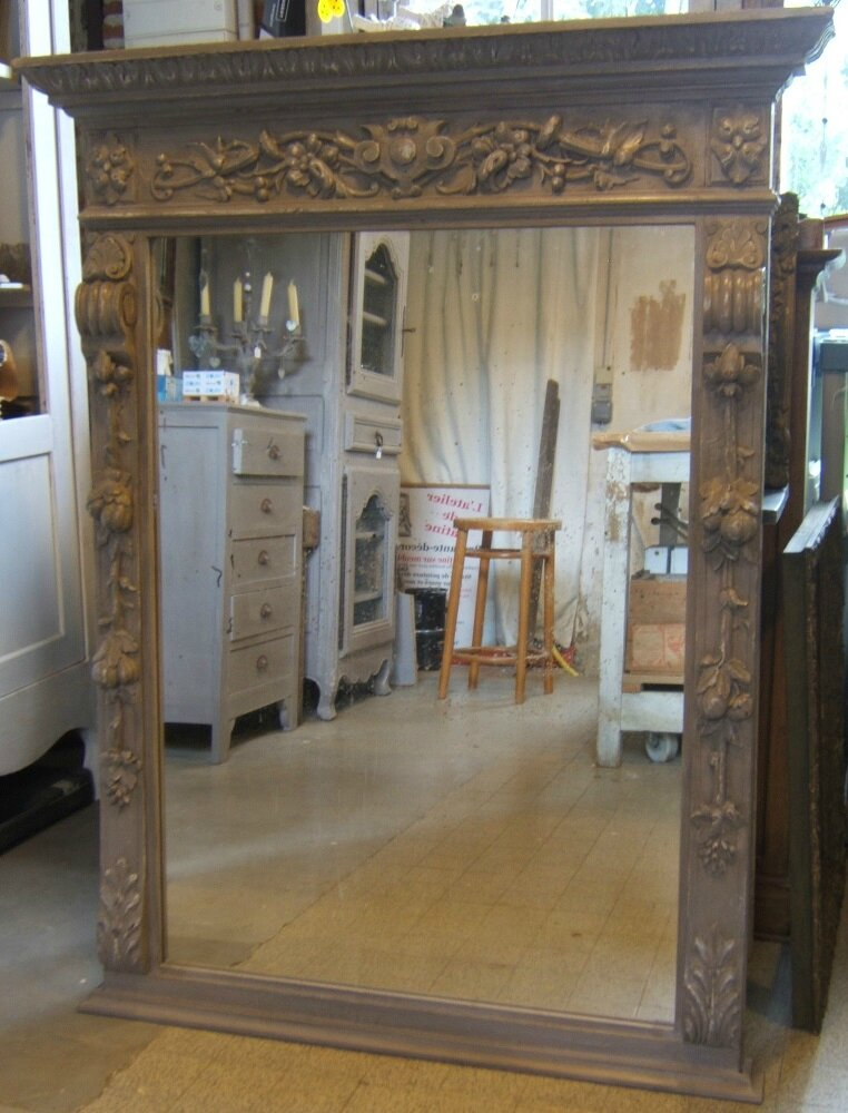 miroir henri ii fini d 39 autres photos dans ma l 39 atelier de patine. Black Bedroom Furniture Sets. Home Design Ideas