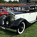 Rolls royce 20/25 hooper sport saloon, 1935