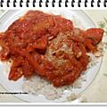 Riz et sa viande hachée épicée ww