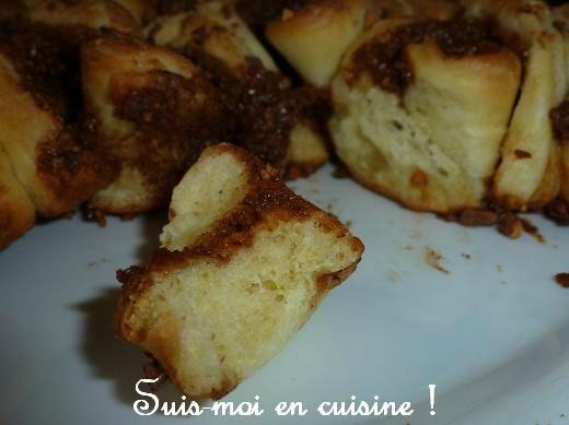 Brioche bouclette pralinée C