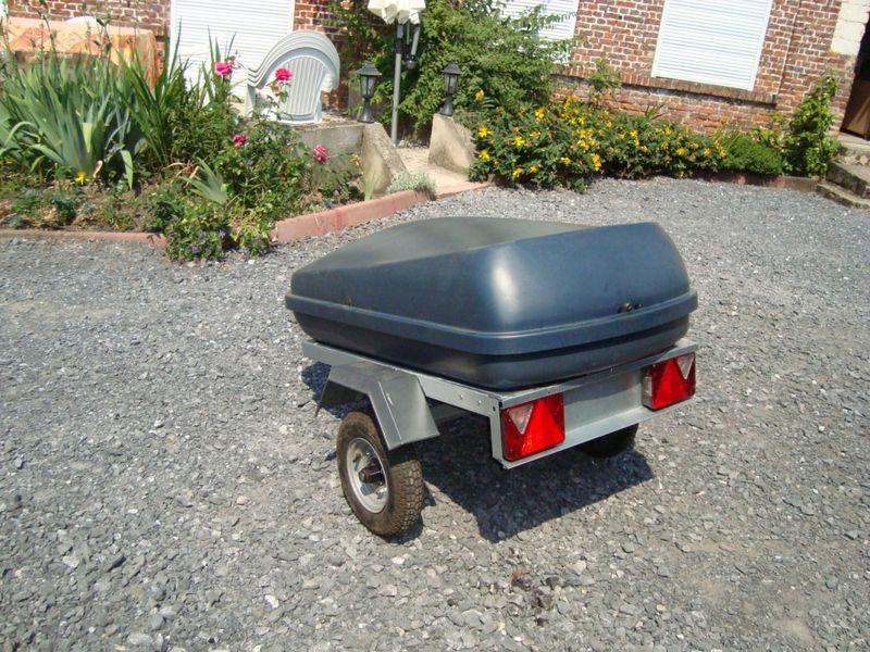 remorque bagagere moto 123 remorque. Black Bedroom Furniture Sets. Home Design Ideas