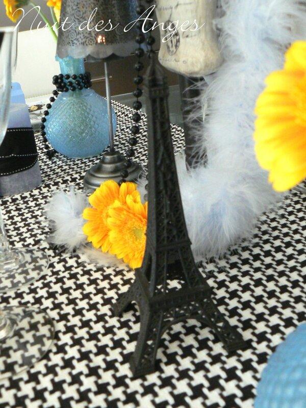 Nuit des anges décoratrice de mariage décoration de table Paris 013