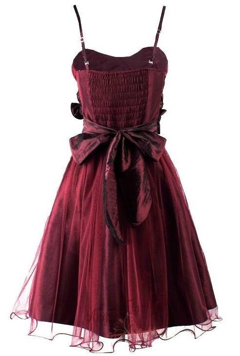 "Robe ""rosa"" rouge T36 neuve"