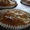 Muffins pommes, poires, fruits rouges ou....
