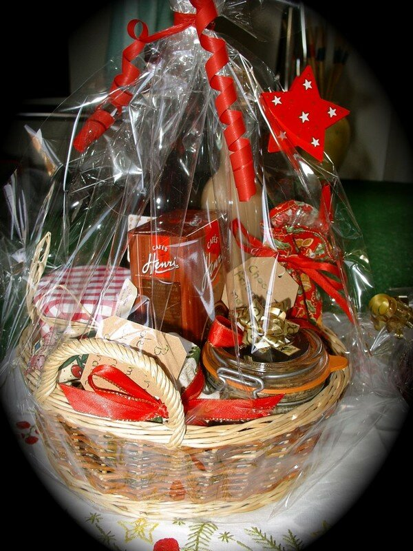 Panier Cadeau Provence : Panier de cadeaux gourmands jour apr?s bouffe et