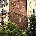 pub chocolat rozan rue marx dormoy