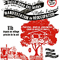 Manifestation pacifique le 17 novembre  ND des Landes