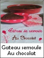 gateau semoule chocolat weight watchers
