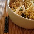 Nouilles chinoises au tofu
