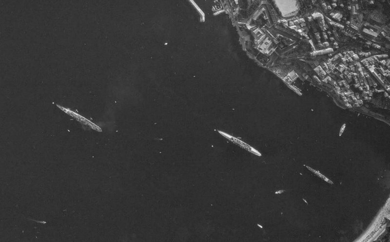 6eflotteus villefranche sur mer 1965