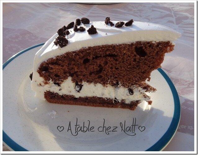 gâteau à la danette au brownie 2