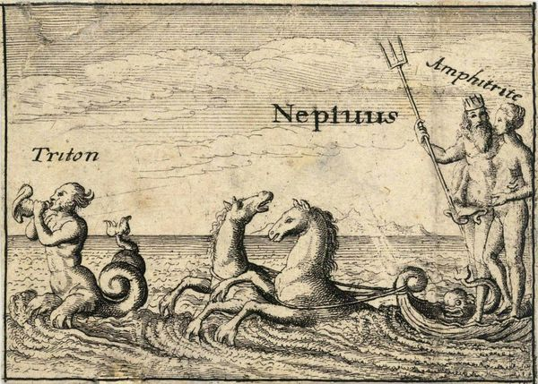 The Greek gods - Neptune - Wenceslas Hollar - 1607-1677