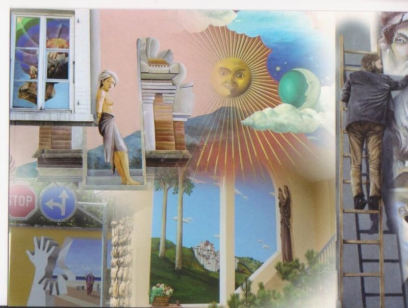 carte postale tirage numéroté 004