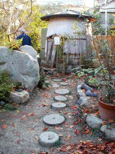 pas japonais et cabanne de jardin 500