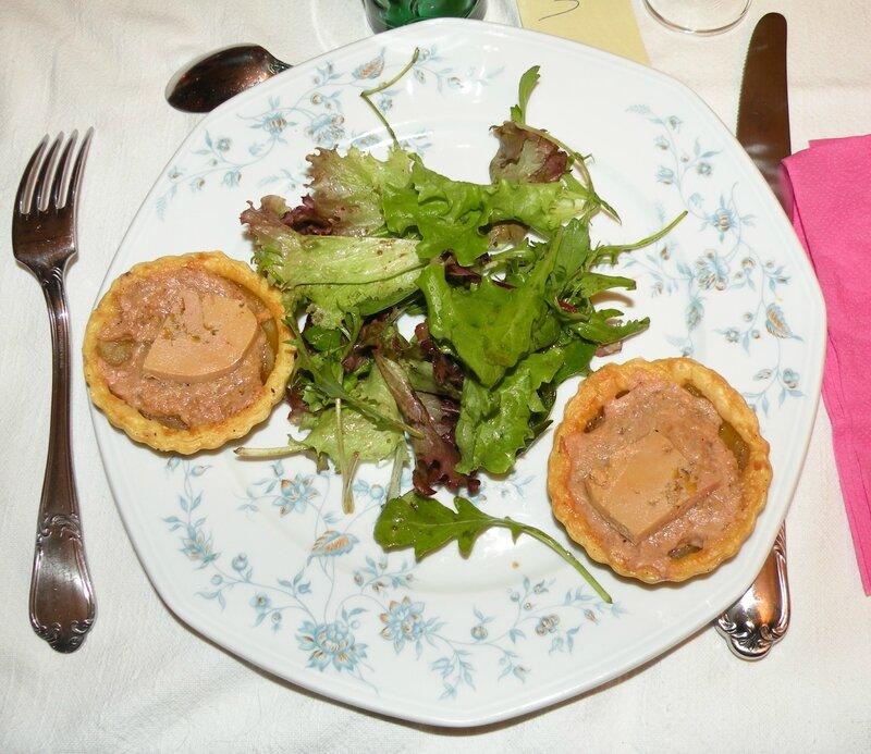 Tartelettes poire foie gras 1