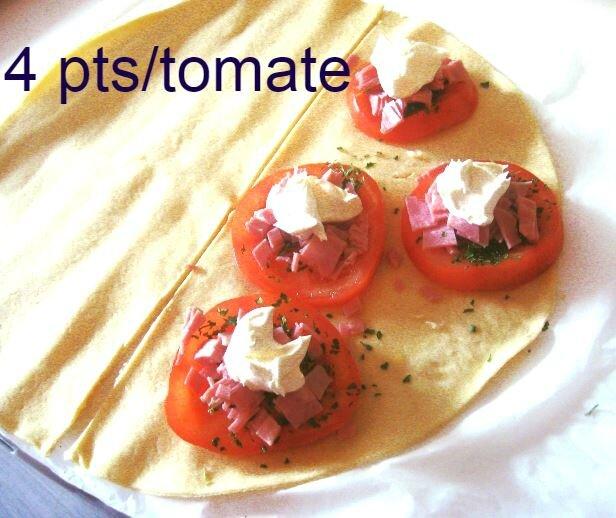 tomates pizzaiolées