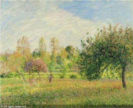 pissarro-camille-1830-1903-fra-le-pre-a-eragny-ete-soleil-fin-2008421