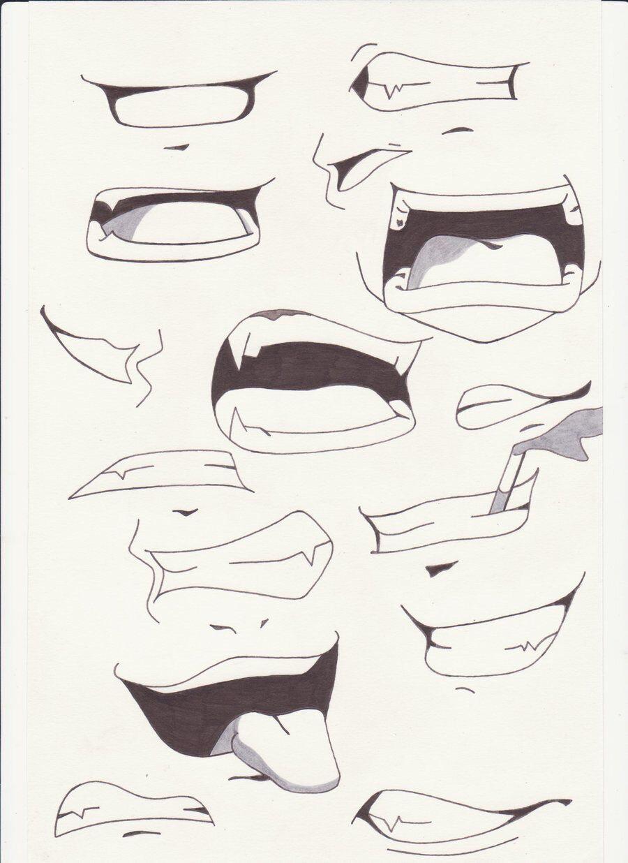Tutoriel dessin visage manga dessin de manga - Dessiner un bisou ...