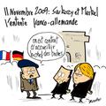 11 novembre, commémoration, sarkozy-merkel, entente et culture à prendre