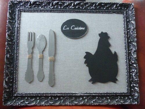 Tableau baroque pour cuisine l atelier de nanouchka for Cuisine baroque moderne