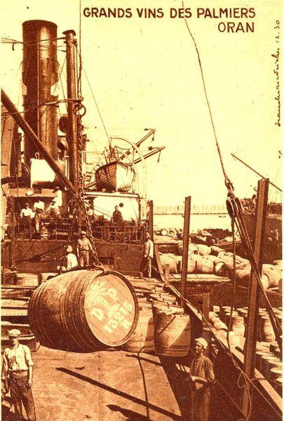 Oran- 031- travail sur les quais