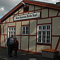 014 Gare Française de Berlin-Tegel. Mon Epouse et Moi.