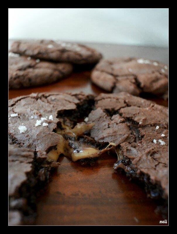maxi cookie nut et caramel