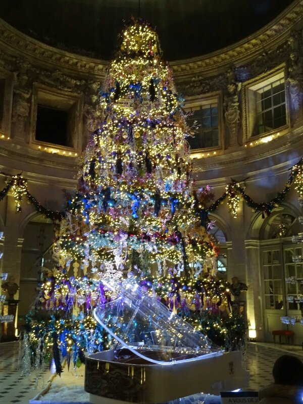 Sapin grand salon