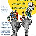 Exposition autour du chat botté au château de breteuil le 17 et 18 septembre