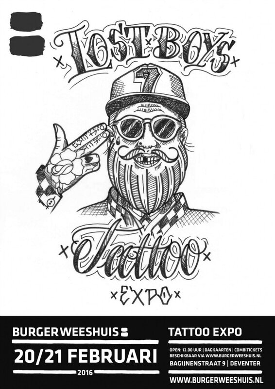 Lost Boys Tattoo Expo 20 - 21 Février 2016