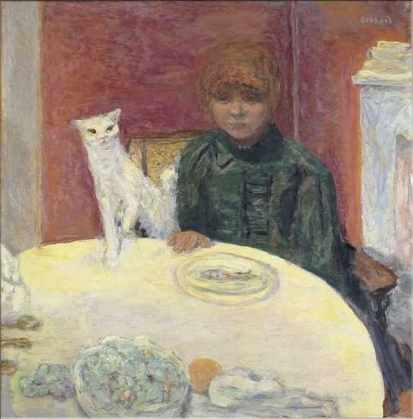 Bonnard 1912 (chat exigeant)