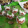 Verrine tomates/mozza